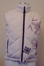 Genuine Down/Duck Feather Reversible Vest by FILATIVA Size-M - $14.95