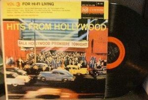 Ronnie Ogden and His Orchestra - Hits From Hollywood - RCA Custom RAL 1003