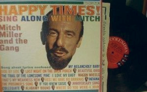 Mitch Miller - Happy Times! - Includes Lyric Sheets - Columbia Records CL 1568