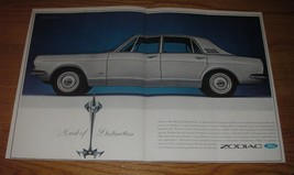 1966 Ford Zodiac Car Ad - Mark of distinction - $14.99