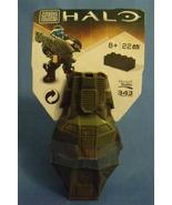 Toys New Mega Bloks Halo Drop Pod Green Jungle Orbital Shock Drop Troope... - $6.95