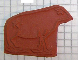 Grandma's Cow with Brand unmounted rubber stamp  - $2.99