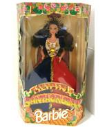 1997 Barbie Filipina Santacruzan Mattel Doll Red & Blue Dress New  - $149.99