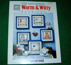 Warm & Witty Book One Cross Stitch Patterns Dimensions - $5.00