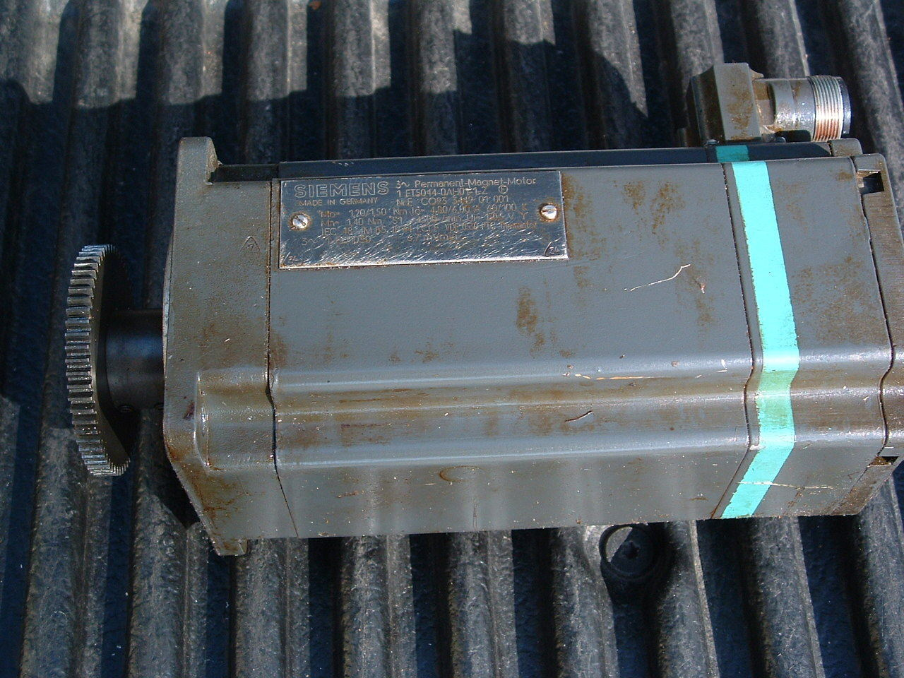 Primary image for Siemens Servo Motor 1FT5044-0AH01-1-Z