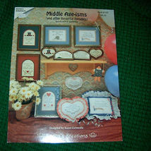 Middle Age isms & Other Forgetful Thoughts Cross Stitch - $4.50