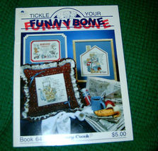 Tickle Your Funny Bone Stoney Creek Cross Stitch Bk 45 - $5.00