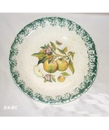 "Handpainted Himark 12"" Made in Italy Apple Design Bowl - $26.99"