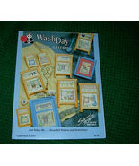 Wash Day  Cross Stitch Patterns Book No 1015 - $4.50