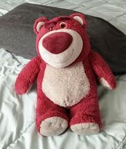 Disney Store Pixar Toy Story 3 Lotso Strawberry Scented Huggin Bear Plus... - $19.34