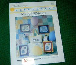 Nursery Whimsies Lady Jane Designs Cross Stitch Pattern - $4.50