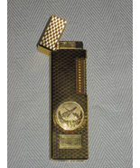 Vintage gold plate Ronson Japan pocket lighter - $50.00