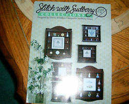 Stitch With Sudberry Cabinets Leaflet No 4 Cross Stitch - $4.00