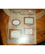 A Welcome For All Seasons Cross Stitch Tidewater Originals - $4.00