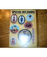 Special Occasions 17 Applique Designs Hot Off The Press  - $5.00