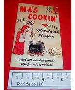 Ma's Cookin Cookbook 1966 - $8.15