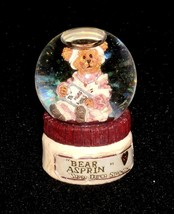 "Boyds Bearstone Waterglobe ""Rosemary Bearhugs T.L.C."" #393000- 2E- Mini- New - $29.99"