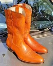 Handmade Men's Cowboy Mexican Western Horse Riding Texas Boots