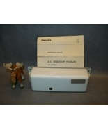 Philips 2422 532 00071 A.C. Stabilizer Module W/ Operating Manual - $150.16