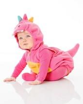 Carters Pink Dragon Halloween Costume Size 3/6 Months Girls 3 Piece Set - £26.48 GBP