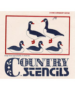 COUNTRY STENCIL #31098 CANADIAN GOOSE NEW PRECUT MYLAR - $2.50