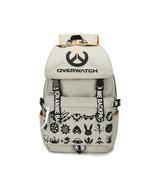 Overwatch Theme Tough Series Backpack Schoolbag Daypack Bookbag Game Logo - $38.99