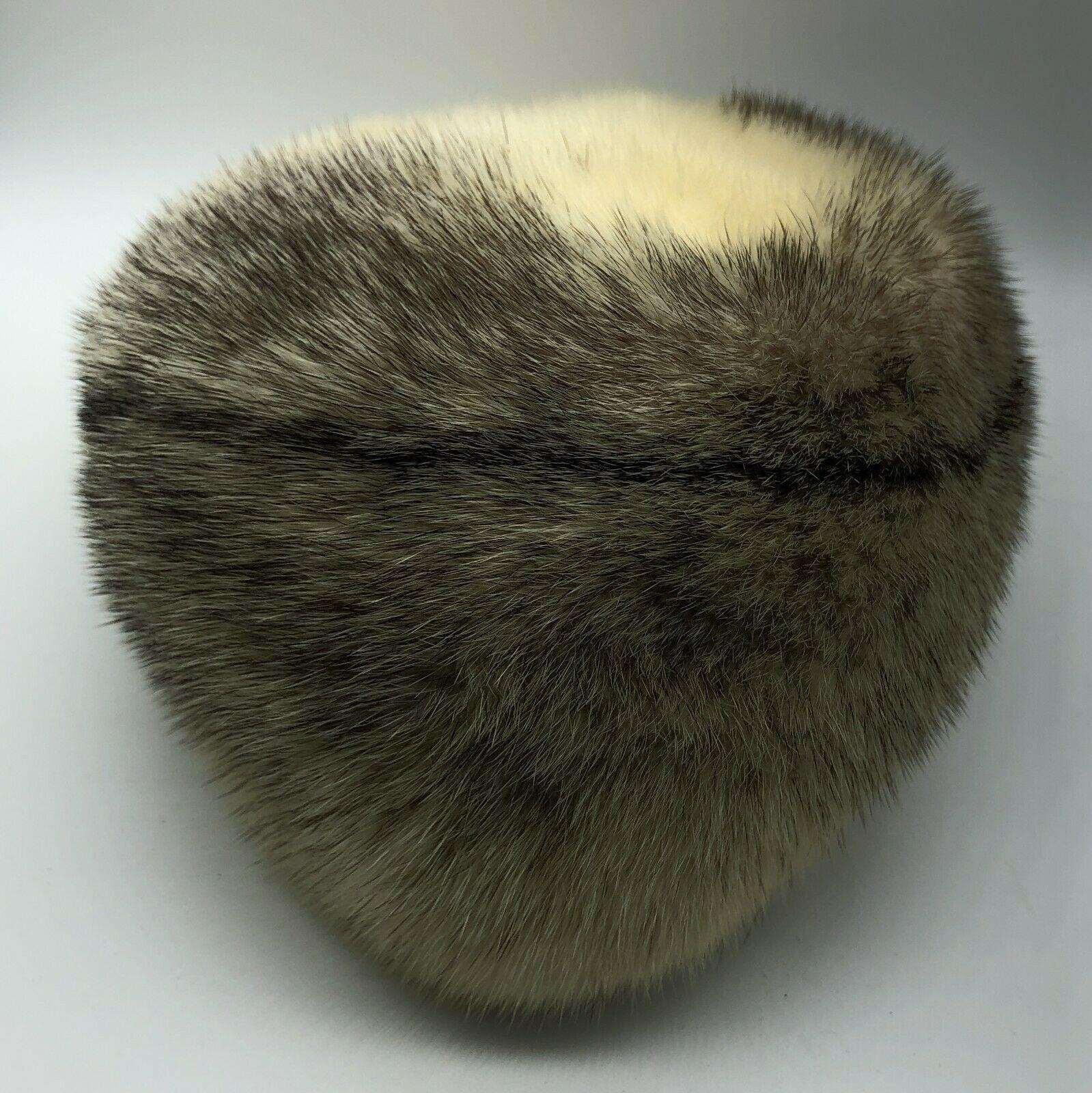 Monsieur Jacques Original Unknown Fur Hat Size Small Vintage 21.25 Inches