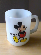 Disney Mickey Mouse Milk Glass Coffee Cup  - $22.00