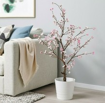Ikea FEJKAArtificial Potted Plant Indoor Outdoor Cherry-Blossoms Pink 43... - $91.55
