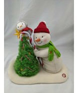 Hallmark Animated Snowman Penguin Tree Plush Decoration Happy Holidays M... - $71.95