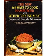 The New 365 Ways To Cook Hamburger And Other Gr... - $5.99