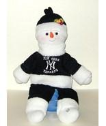 1/2 Price! New York Yankees Plush Stuffed Shelf Sitter Large Snowman - $7.04