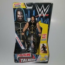 "NEW WWE Seth Rollins Tough Talkers 7"" Action Figure Toy Wrestler TALKS I... - $24.70"