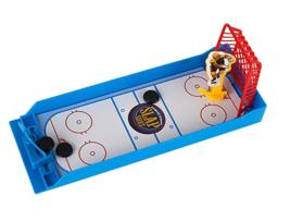 Mini Hockey Slap Shot Finger Board Desktop Novelty Toy Fun Sports Travel Game - $7.99