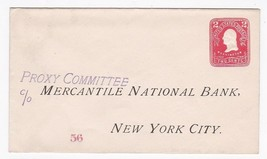 MERCANTILE NATIONAL BANK PROXY COMMITTEE VINTAGE UNUSED ENVELOPE UNKNOWN... - $1.98