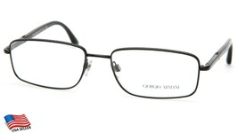 NEW GIORGIO ARMANI AR 5006 3001 BLACK EYEGLASSES FRAME 55-17-140 B34mm I... - $143.54