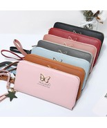 [Bag] Fashion Phone Holder Love Butterfly Wallet Long Purse for Woman - $16.99