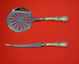 Buttercup Gorham Sterling Silver Tomato Serving Set 2-Piece HHWS Custom ... - $139.00