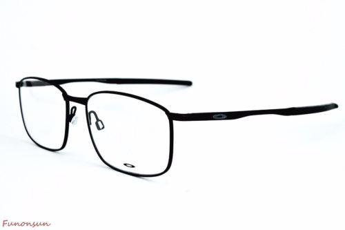 Oakley Men's Frame Taproom OX3204 0255 Matte Black Rectangular Eyeglasses 55mm - $111.55