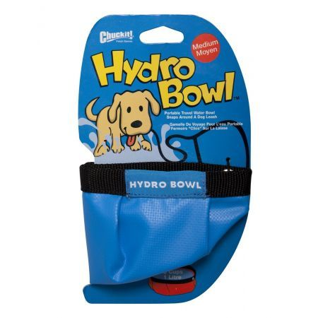 Chuckit hydro bowl travel water bowl
