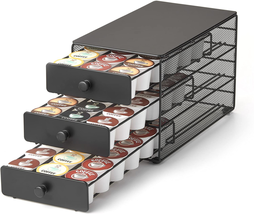 Nifty 3-Tier Large Capacity Coffee Pod Storage Drawer For K-Cup Pods. 54... - $34.17
