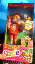 Happy Meal Stacie McDonald's Doll Toy SurpriseJewelry NIB Mattel LilSist... - $17.99