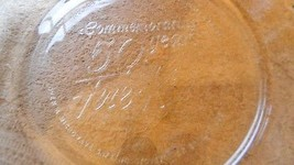 Fire King 50th Anniversary 9 Inch Pie / Baking Dish H1075 Nice Free Usa Ship - $23.36