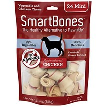 SmartBones Rawhide-Free Dog Bones, Made With Real Chicken - $26.95