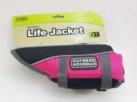 Pet Saver Life Jacket Dogs Pink Extra Small Fully Adjustable Straps Outw... - $18.80