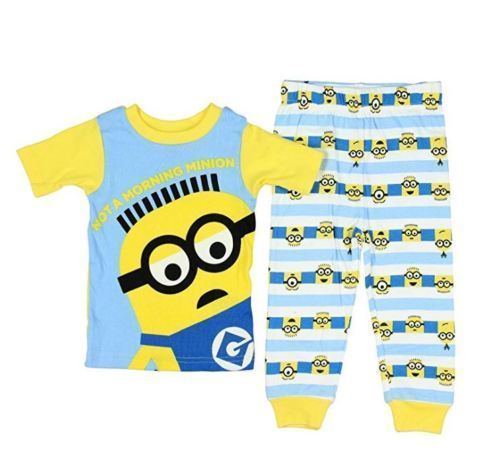 Primary image for Universal Despicable Me Boys Toddler Pajama Set Size  4T  NWT