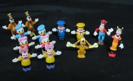 Lot of 13 Walt  Disney Figures PVC Plastic Mini 1 3/4'' Several Characters - $19.95