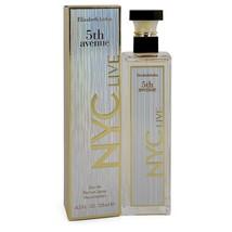5th Avenue NYC Live by Elizabeth Arden Eau De Parfum Spray 4.2 oz - $44.95