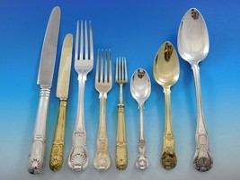 Kings English Sterling Silver Flatware Set Service 138 Pieces Dinner w/C... - $16,500.00