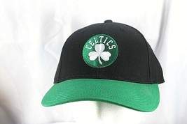 Boston Celtics Black/Green NBA Baseball Cap Adjustable - $21.99